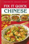 Fix It Quick Chinese - Publications International Ltd.
