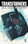 Transformers (2011-) #51 (Transformers: Robots In Disguise (2011-)) - Andrew Griffith, John Barber