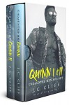 Quinn I & II Boxed Set - Undaunted Men: A Dark, Edgy, Suspenseful Romance - J.C. Cliff, Sommer Stein Perfect Pear Creative Covers, K.D. Robichaux, Hot Tree Editing, Soni Gillette