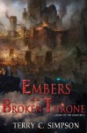 Embers of a Broken Throne (Aegis of the Gods Book 3) - Terry C. Simpson