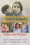 Homelessness in Rural America: Policy and Practice - Paul A. Rollinson, John T. Pardeck