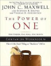 The Power of One: One Person, One Rule, One Month - John C. Maxwell, Thomas Addington, Stephen Graves