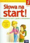 Słowa na start klasa 5 cz 1 podręcznik - Anna Wojciechowska