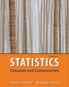 Statistics: Concepts & Controversies: w/EESEE Access Card - David S. Moore