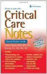 Critical Care Notes: Clinical Pocket Guide - Janice Jones