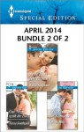 Harlequin Special Edition April 2014 - Bundle 2 of 2: More Than She ExpectedOne Night with the BossRecipe for Romance - Karen Templeton, Teresa Southwick, Olivia Miles