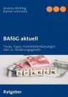 Bafg Aktuell - Andrea Meiling, Rainer Lehmann, Wasb ttel Meiling-Verlag