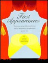 First Appearances: The Motion Picture Debuts and Career-Making Performances of Hollywood's.. - David Hofstede