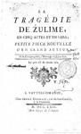Zulime - Voltaire