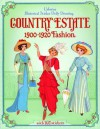 Historical Sticker Dolly Dressing Country Estate - Emily Bone