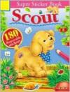 Scout Super Sticker Book with Sticker - Balloon Books