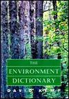 The Environment Dictionary - David Kemp