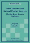 China After the Ninth National People's - East Asian Institute