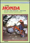 Clymer Honda 50 110cc Ohc Singles, 1965 1996 - Ed Scott