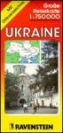 Ukraine Road Map with Separate Index 1:750,000 (Ravenstein International Maps) - Ravenstein Verlag