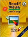 Microsoft Word 2002 Made Easy [With CD-ROM] - Katie Layman, LaVaughn Hart