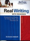 Real Writing with Readings Fourth Edition - Susan Anker