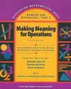 Making Meaning for Operations: Casebook - Deborah Schifter, Dale Seymour Publications