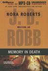 Memory in Death - J.D. Robb, Susan Ericksen