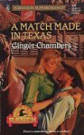 A Match Made In Texas - Ginger Chambers