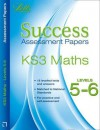 Ks3 Maths Levels 5-6: Assessment Papers - Hartman, Bob Hartman