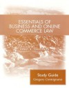 Essentials of Business and Online Commerce Law: Student Study Guide - Henry R. Cheeseman