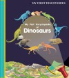 My First Encyclopedia of Dinosaurs - Henri Galeron, Donald Grant, Pierre De Hugo, Ute Fuhr, Raoul Sautai, James Prunier