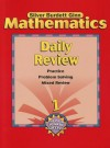 Mathematcis Daily Review, Grade 1: Practice, Problem Solving, Mixed Review - Silver Burdett Ginn
