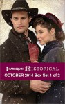 Harlequin Historical October 2014 - Box Set 1 of 2: The Truth About Lady FelkirkThe Courtesan's Book of SecretsWild West Christmas - Christine Merrill, Georgie Lee