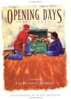 Opening Days: Sports Poems - Lee Bennett Hopkins, Lee Bennett Hopkins