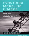 Student Study Guide to Accompany Functions Modeling Change: A Preparation for Calculus, 2nd Edition - Eric Connally, Deborah Hughes-Hallett