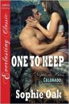 One to Keep - Sophie Oak