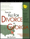 How to File for Divorce in Georgia - Charles T. Robertson, Edward A. Haman