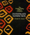 Investigate Nonfiction (Reading/Writing Teacher's Companion) - Donald H. Graves