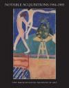 Notable Acquisitions, 1984-1985 - Metropolitan Museum of Art