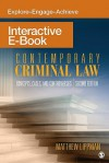 Contemporary Criminal Law Interactive eBook: Concepts, Cases, and Controversies - Matthew R. Lippman