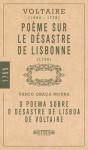 O Poema Sobre o Desastre de Lisboa de Voltaire - Voltaire, Vasco Graça Moura