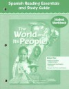 The World and Its People: Spanish Reading Essentials and Study Guide: Student Workbook - Glencoe/McGraw-Hill