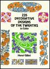 Design Motifs of the Decorative Twenties in Color - Henri Gillet
