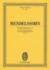 Concerto No. 2 in D Minor, Op. 40 (Edition Eulenburg) - Felix Mendelssohn