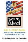 All American Back to School 2011-2012 Guide - Joel D. Joseph