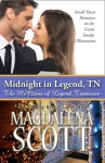 Midnight in Legend, TN: Small Town Romance in the Great Smoky Mountains (The McClains of Legend, Tennessee Book 1) - Magdalena Scott