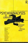 Psychoanalysis in Context: Paths between Theory and Modern Culture - Anthony Elliott, Stephen Frosh