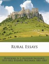 Rural Essays - A.J. Downing, Fredrika Bremer