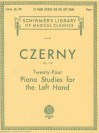 24 Studies for the Left Hand, Op. 718: Piano Technique (Schirmer's Library of Musical Classics) - Carl Czerny, William Scharfenberg