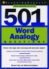 501 Word Analogy Questions - Learning Express LLC
