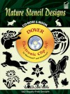 Nature Stencil Designs CD-ROM and Book - Dover Publications Inc.