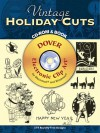 Vintage Holiday Cuts CD-ROM and Book - Leslie Cabarga