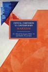 Critical Companion to Contemporary Marxism - Jacques Bidet, Stathis Kouvelakis