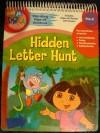 Dora the Explorer Hidden Letter Hunt Take Along Wipe Off Wookbook - Learning Horizons